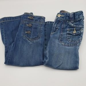Set of 2 Girls Old Navy Size 3T Jeans